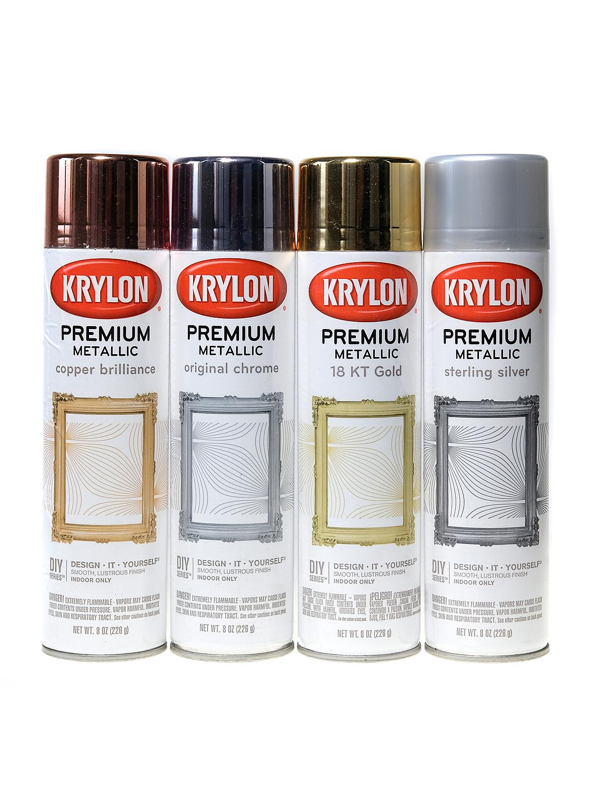 Krylon Premium Metallic Spray Paint