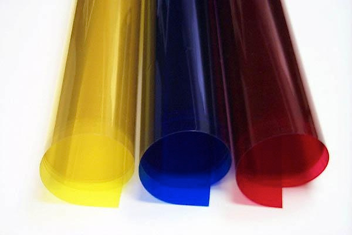 Grafix Colored Clear Lay Film