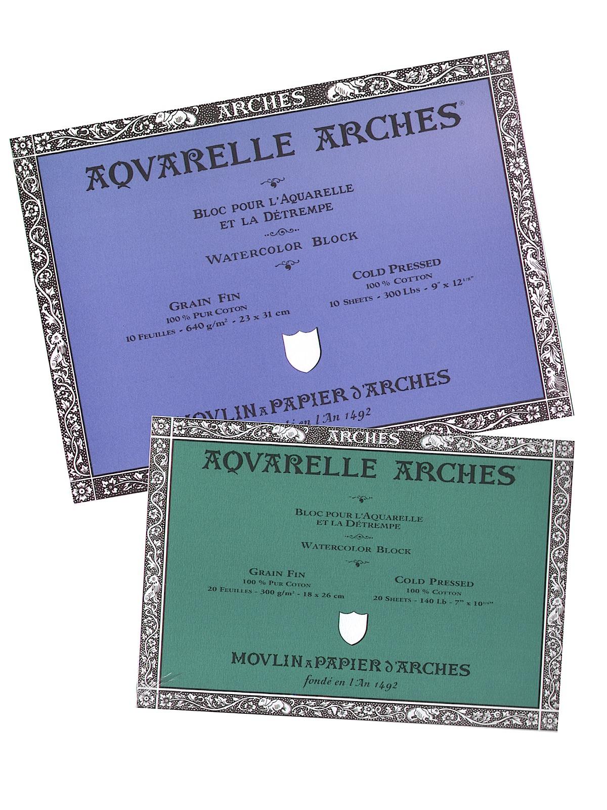 Arches Aquarelle Watercolor Block
