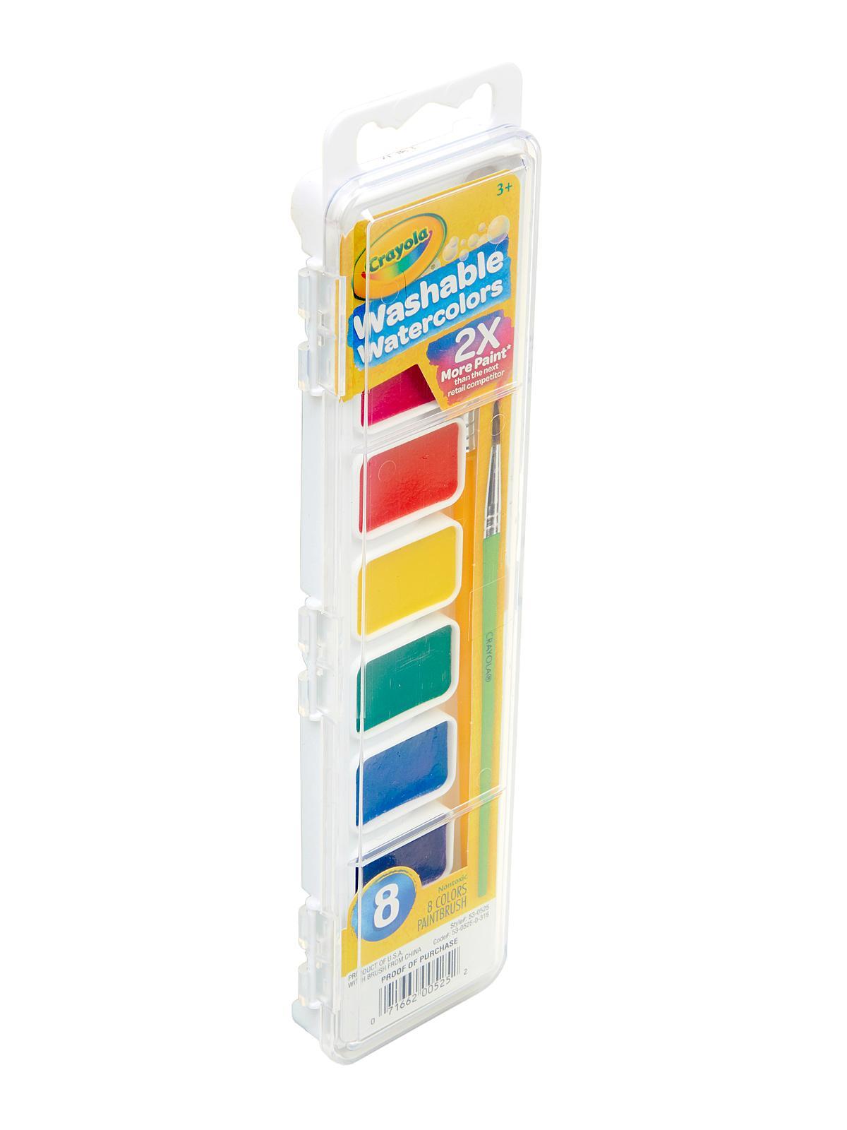 Crayola Washable Watercolor Sets