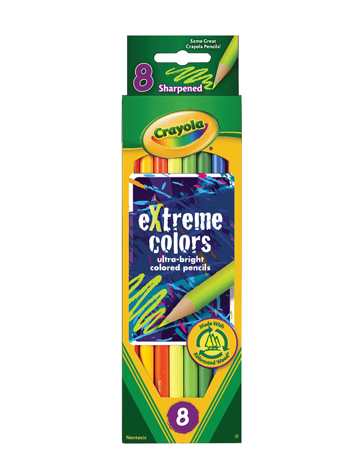 Crayola Extreme Colors Pencils