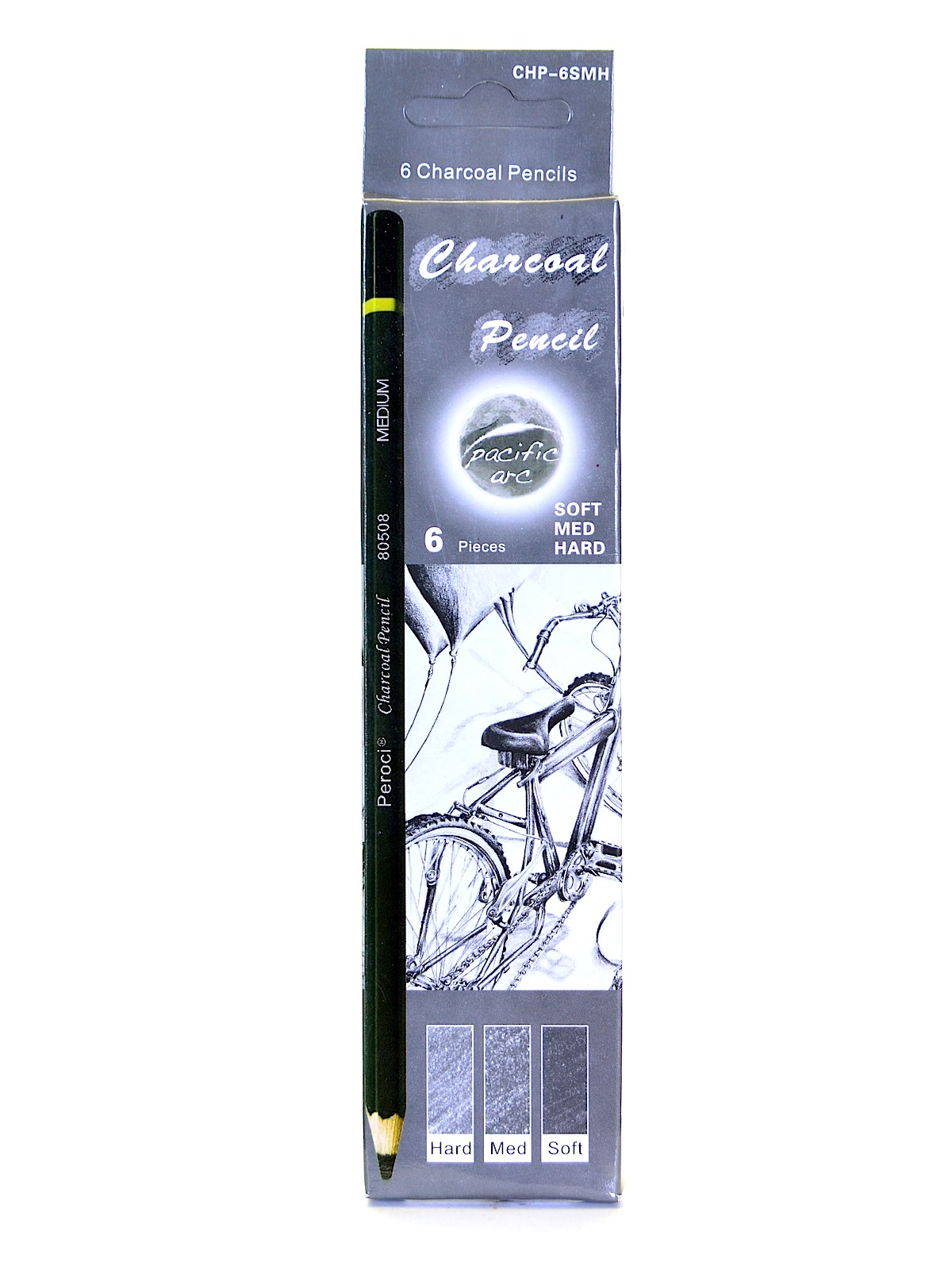 pacific arc charcoal pencil sets