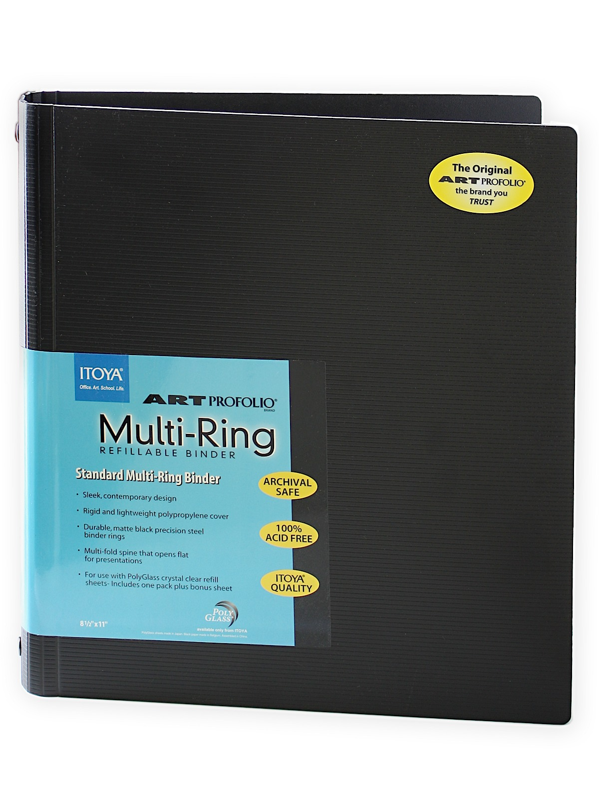 Itoya Art Profolio Multi Ring Binder And Refills