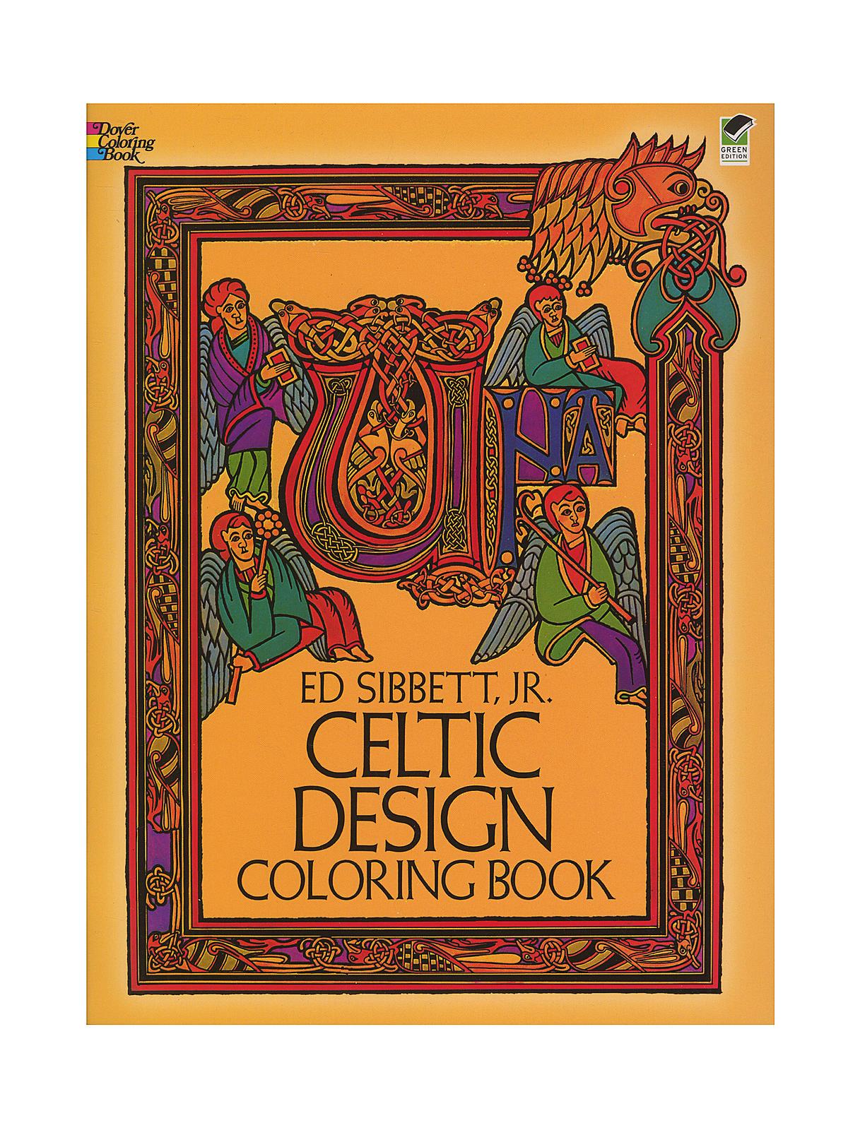 Dover Celtic Design Coloring Book