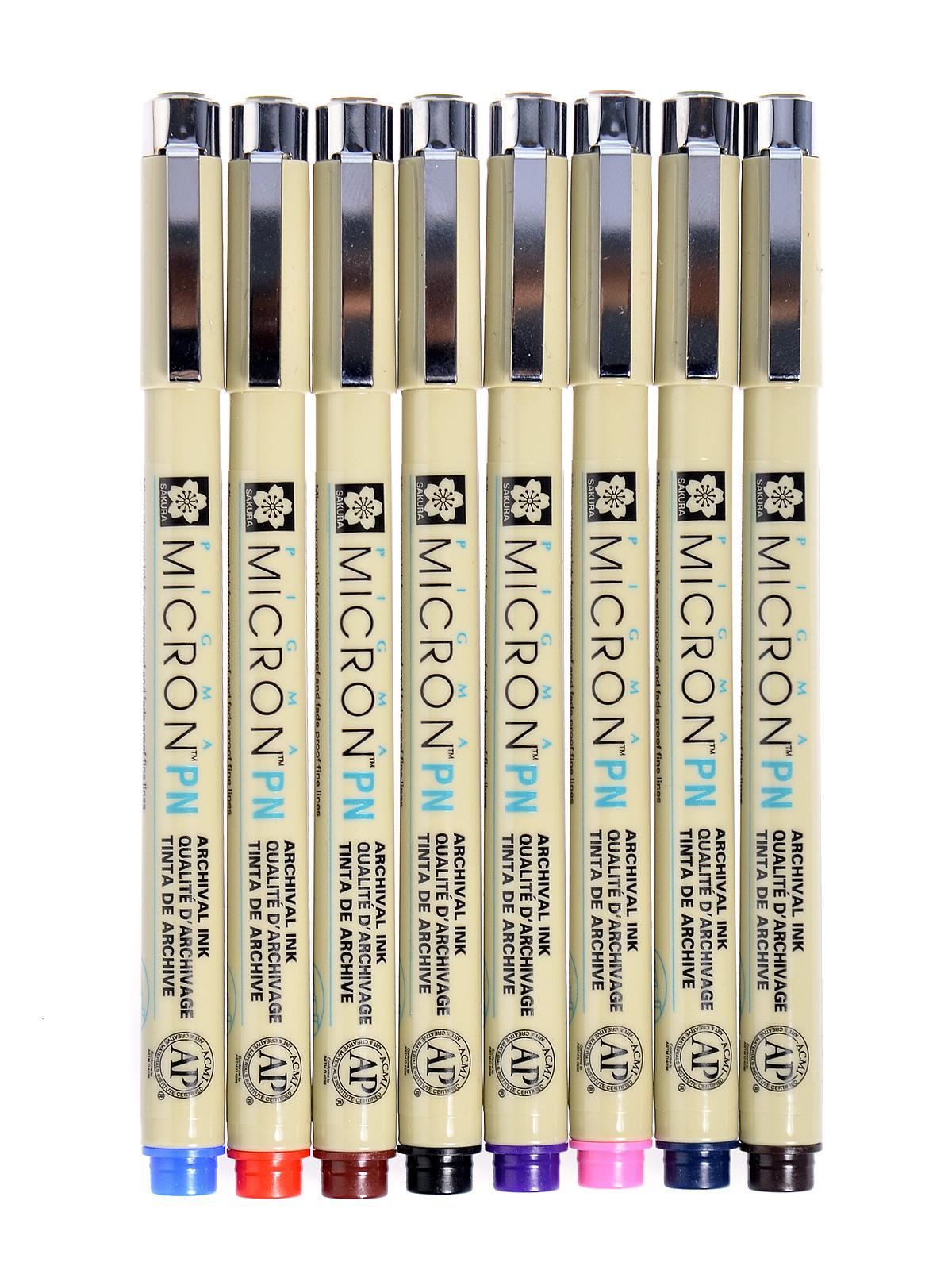 Sakura Micron Pn Plastic Nib Pens