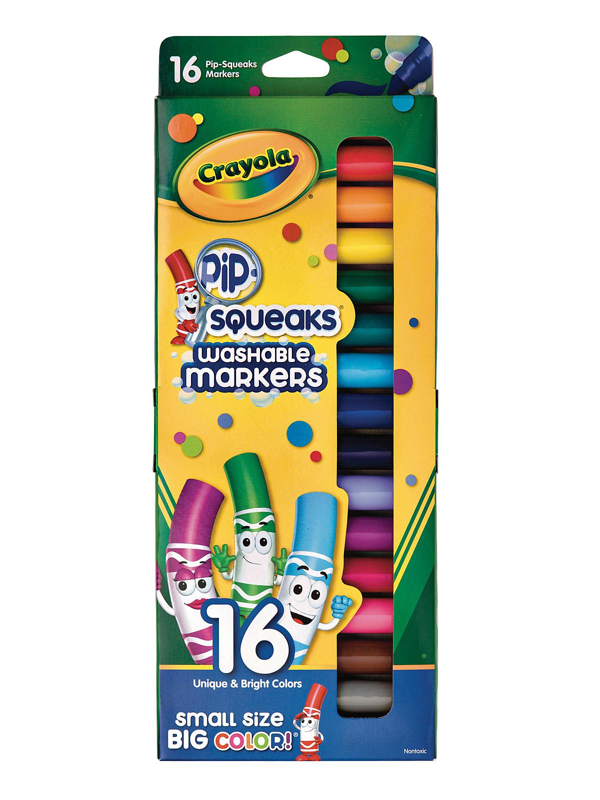 Crayola pip squeaks markers Crayola fashion design studio reviews