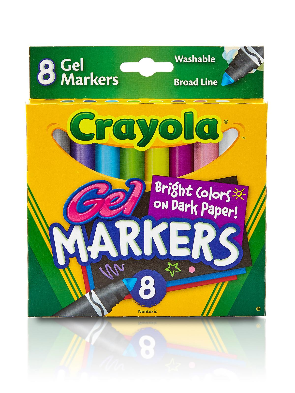 Crayola washable gel markers Crayola fashion design studio reviews