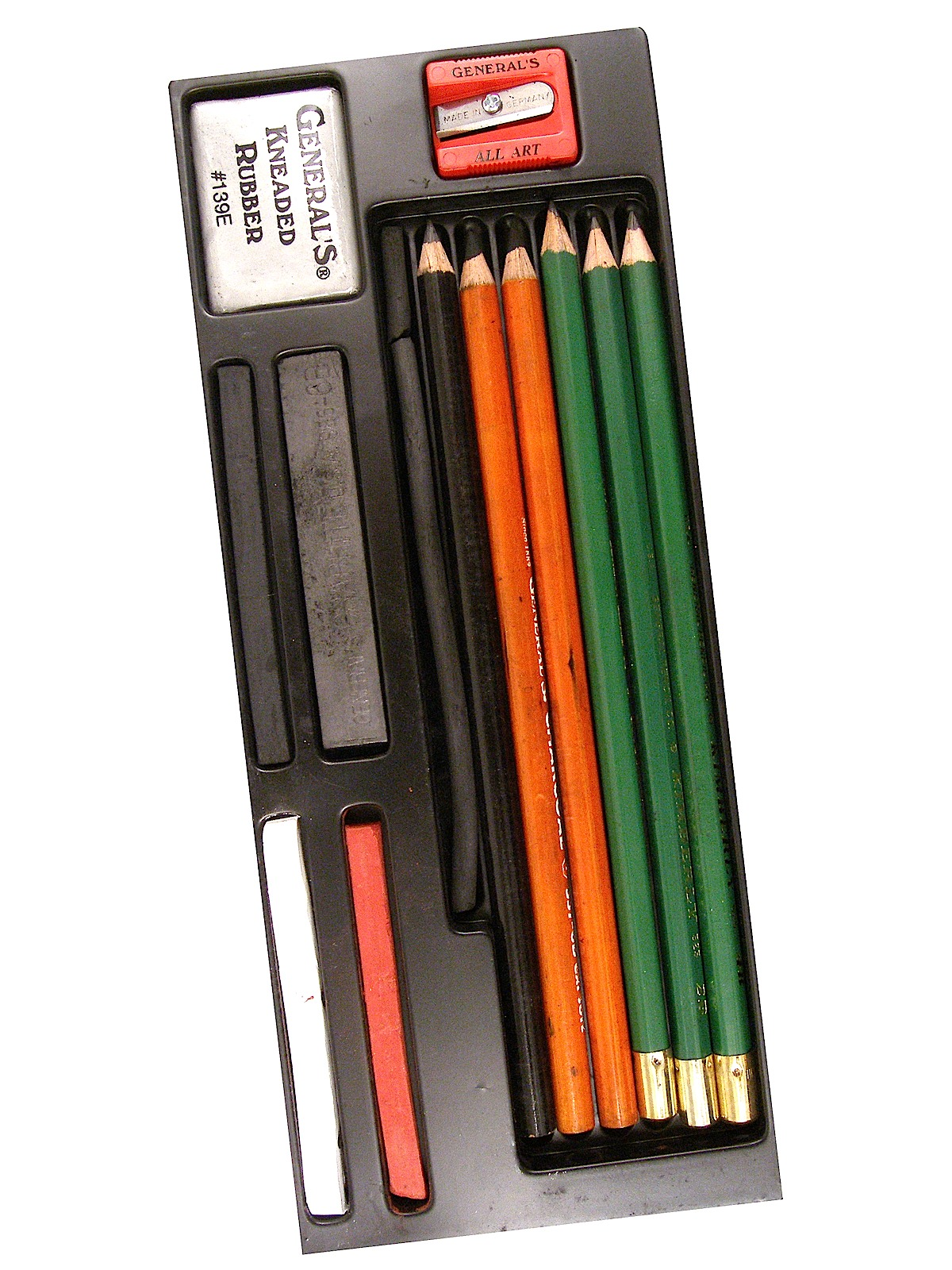 Essential Tools For Your Makeup Bag: General's Drawing Class Essential Tools Kit