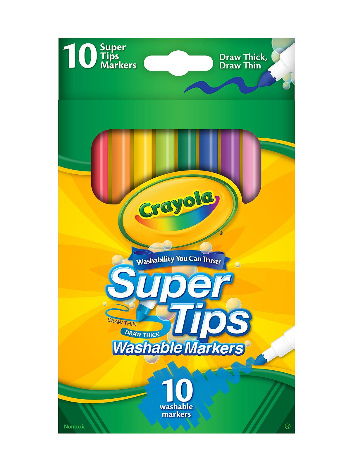 Crayola Super Tips Washable MarkersCrayola Marker Clip Art