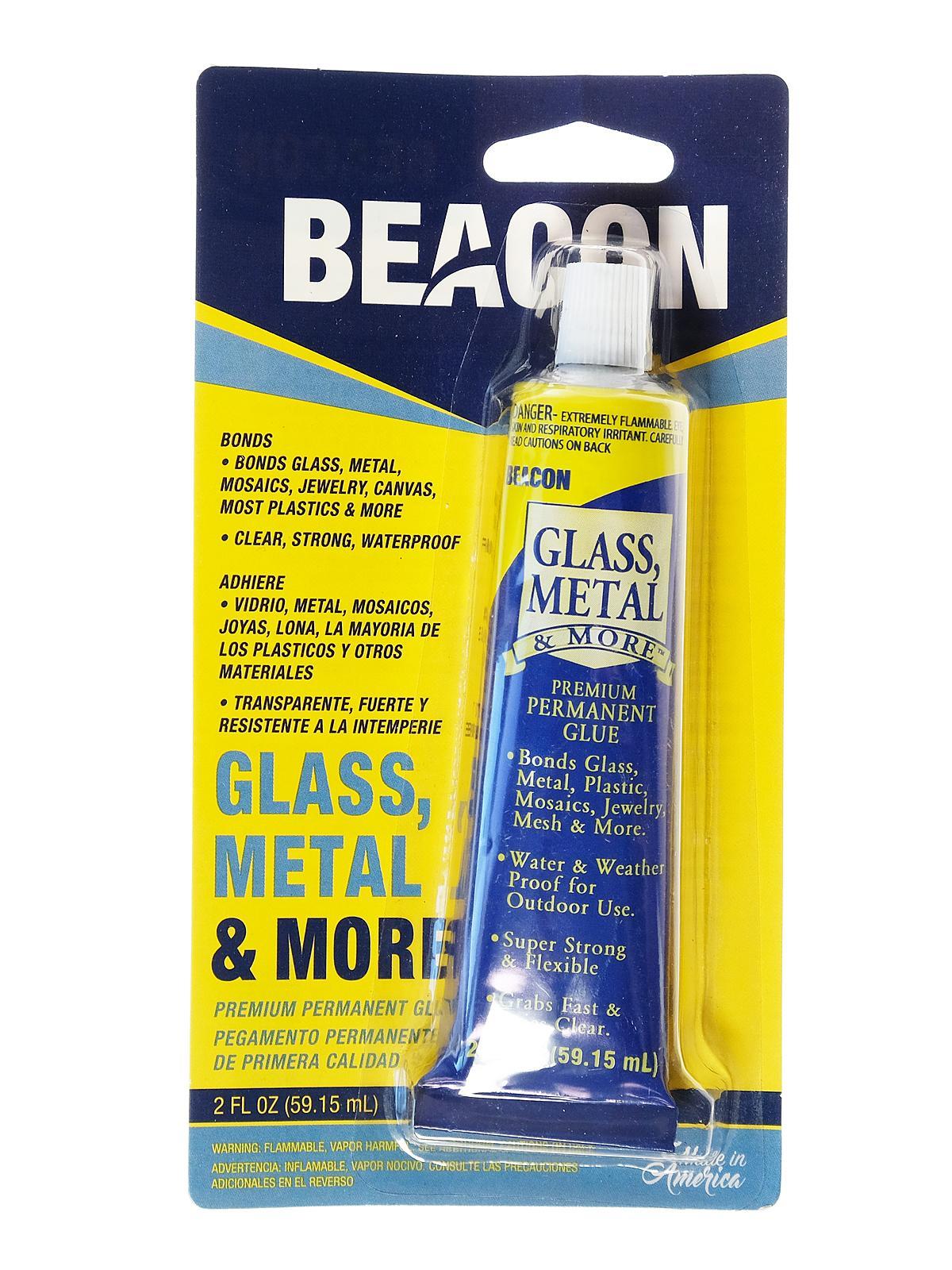 Beacon glass metal premium permanent glue