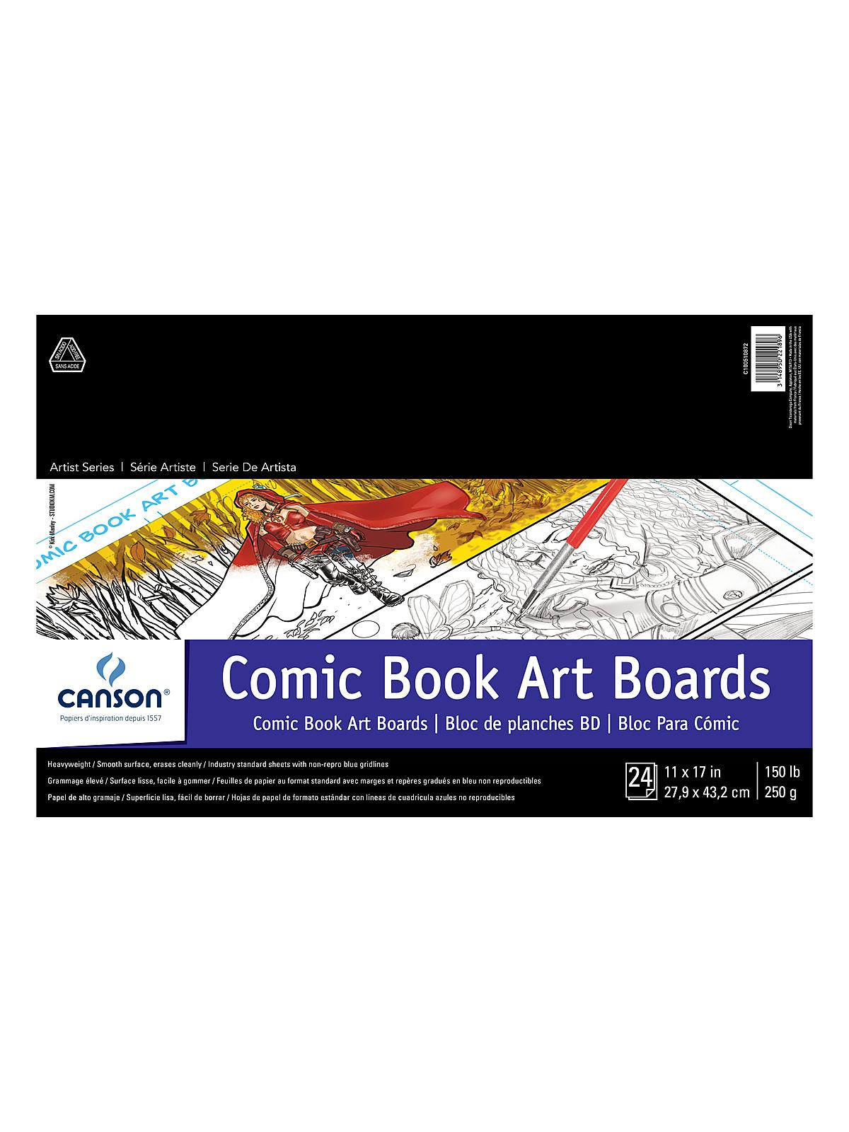 Canson Fanboy Comic Book Art Boards