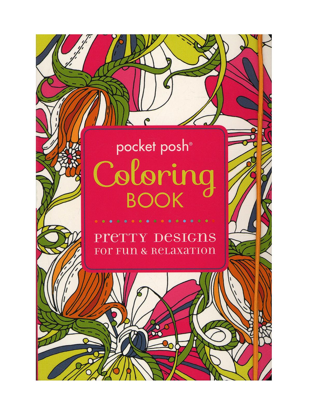 Andrews McMeel Publishing Pocket Posh Coloring Books
