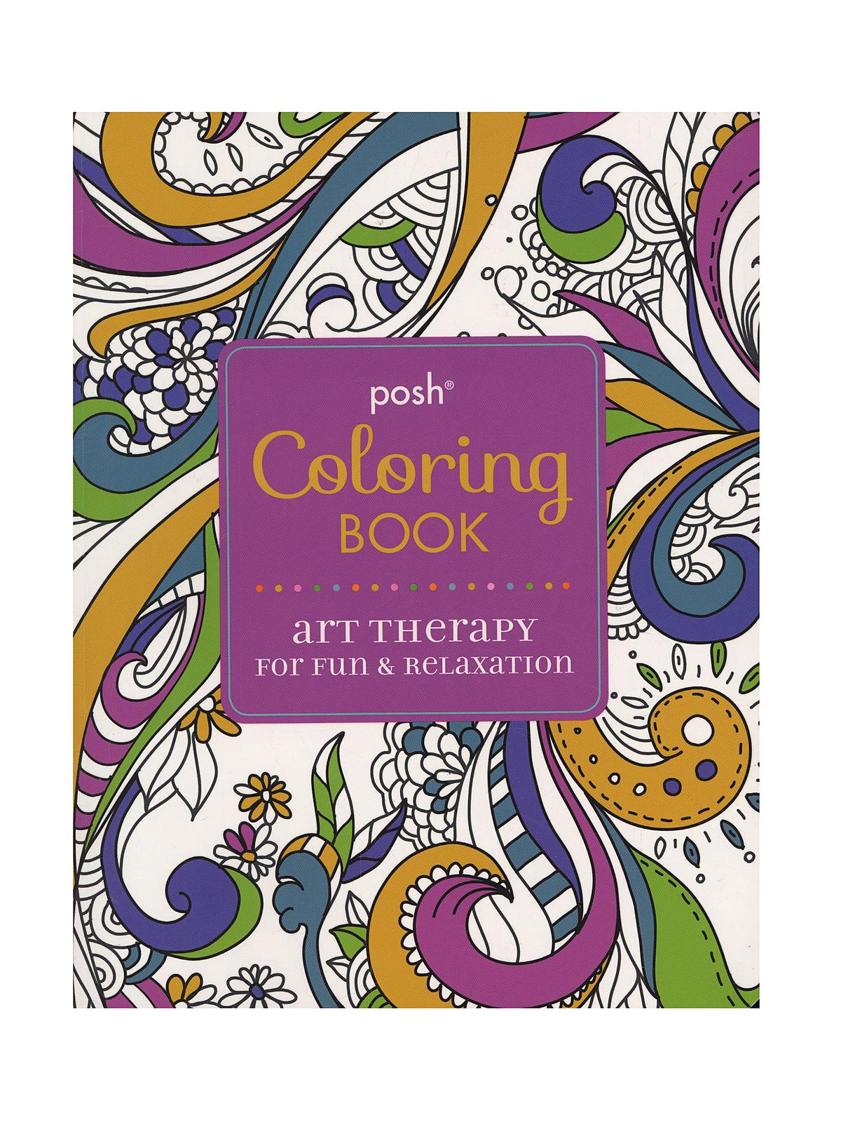 Andrews McMeel Publishing Posh Coloring Books