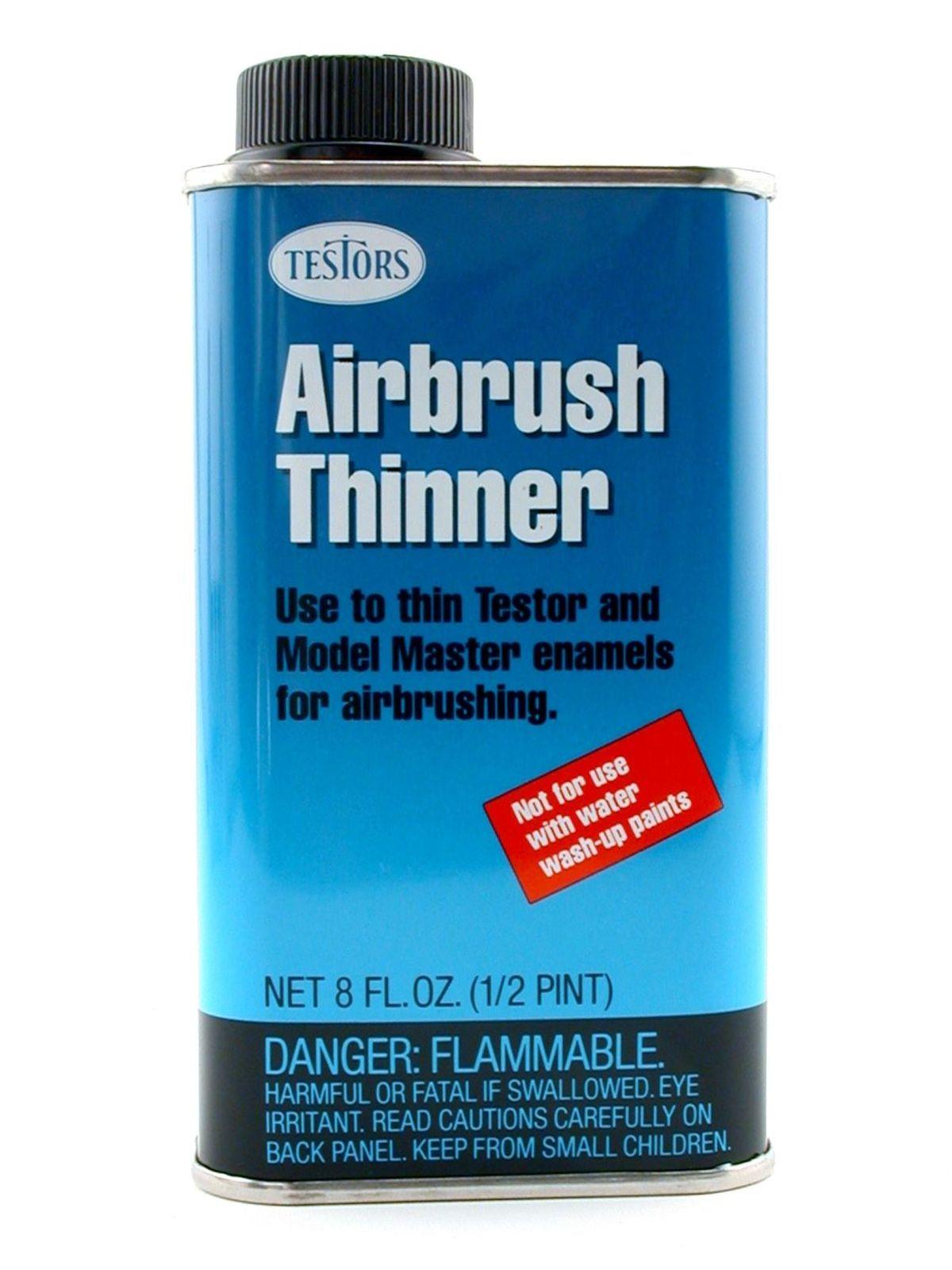 Acrylic Enamel Paint >> Testors Airbrush Thinner