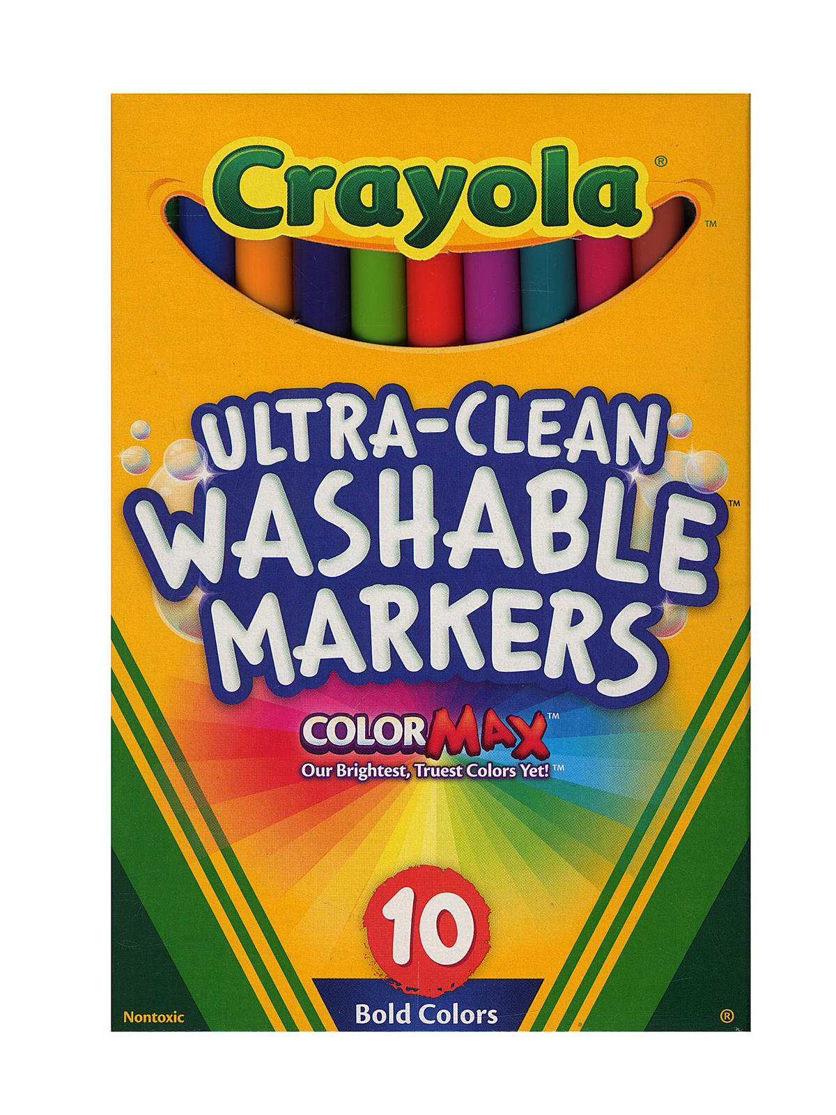 Crayola bold colors ultra clean washable markers Crayola fashion design studio reviews