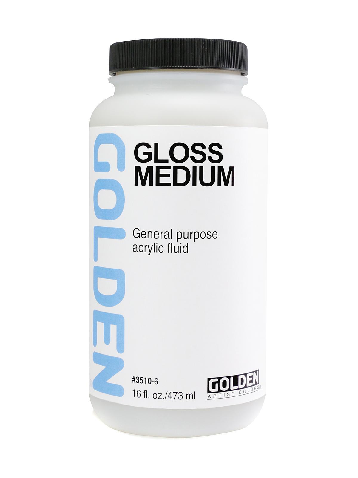 Golden polymer medium gloss for Gloss medium for acrylic painting