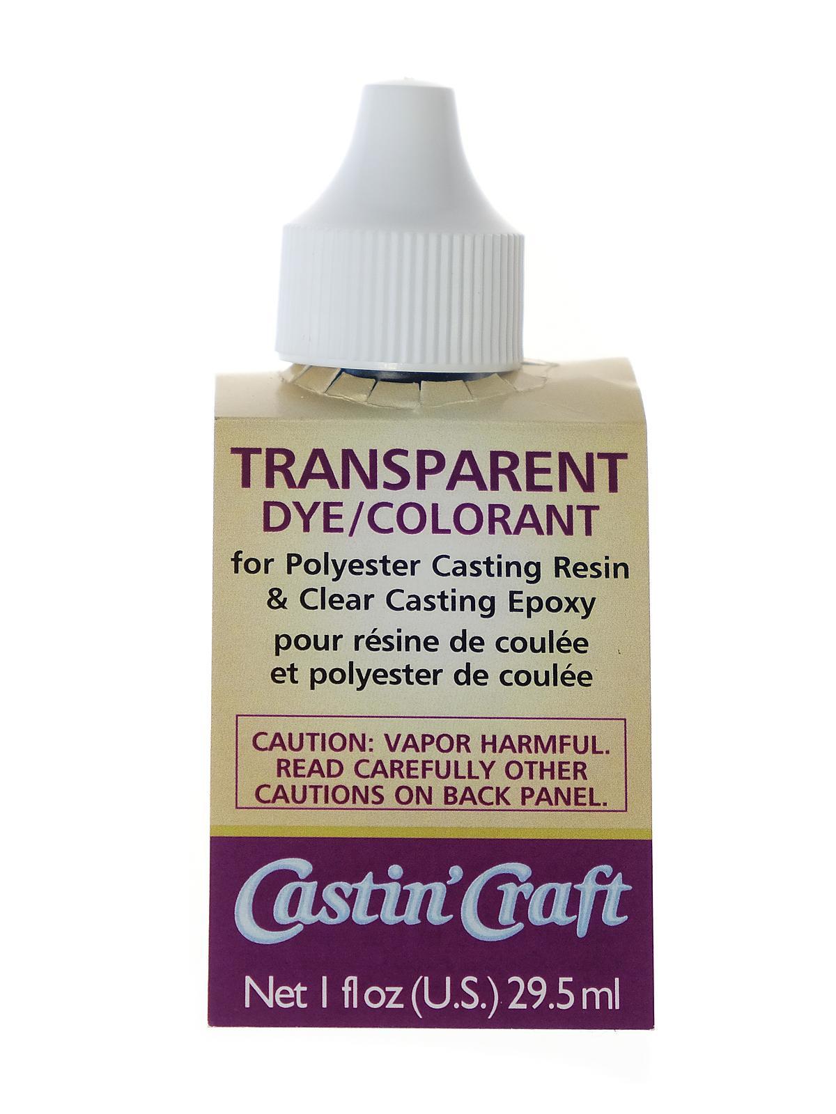 Castin 39 craft transparent dyes for Castin craft resin dye