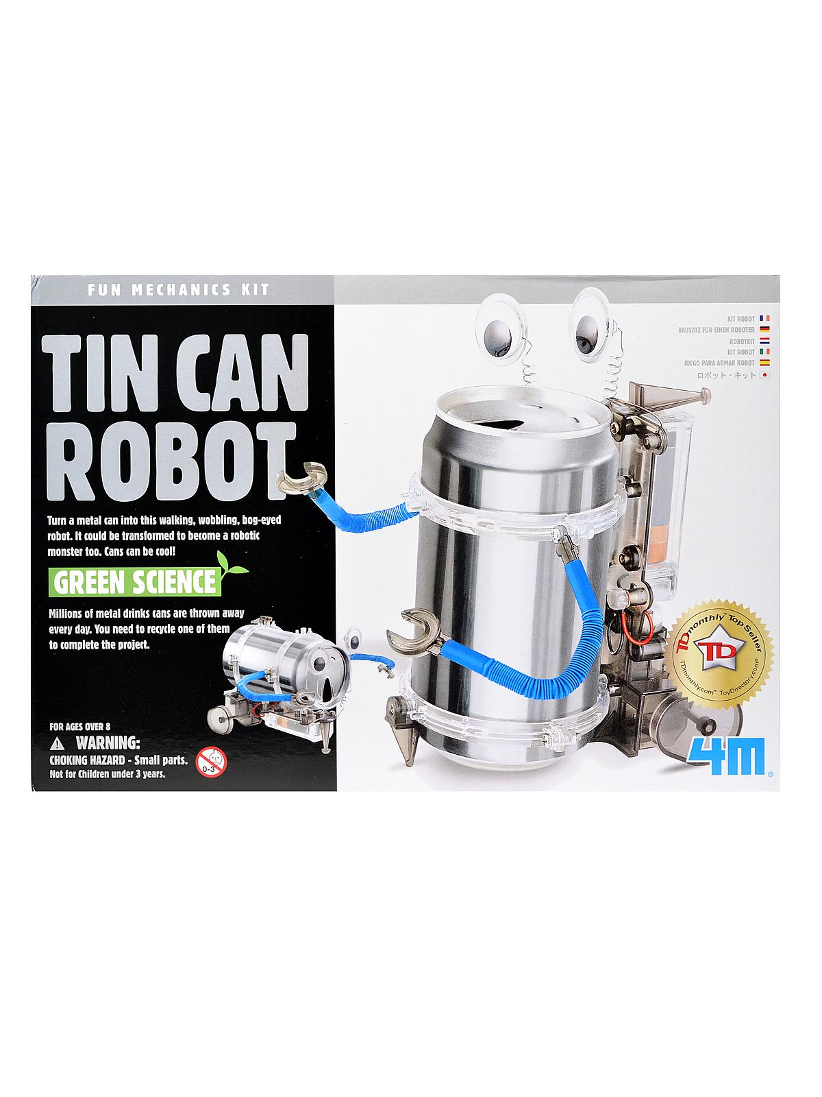 soda can robot instructions