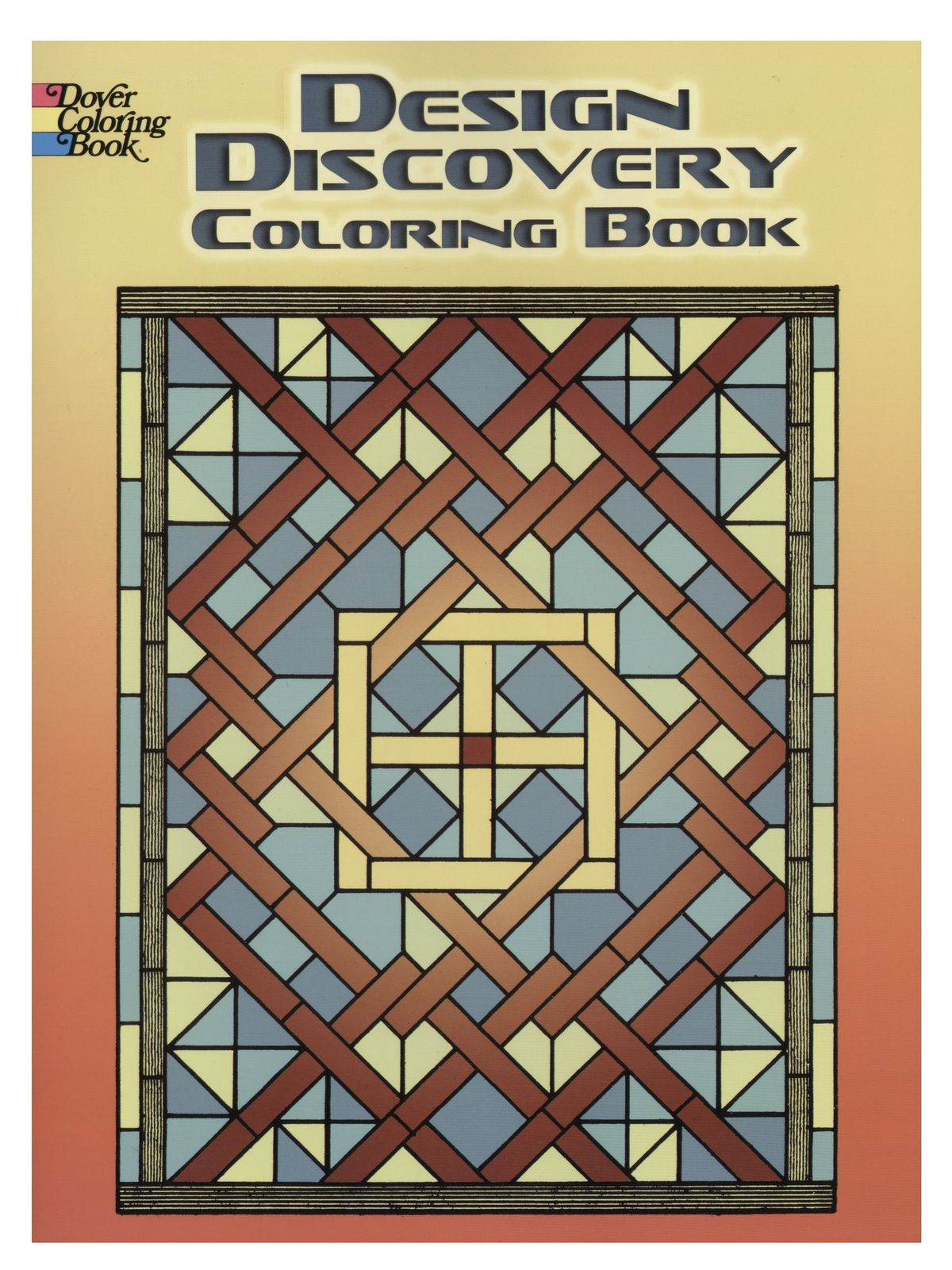 Dover Design Discovery Coloring Book