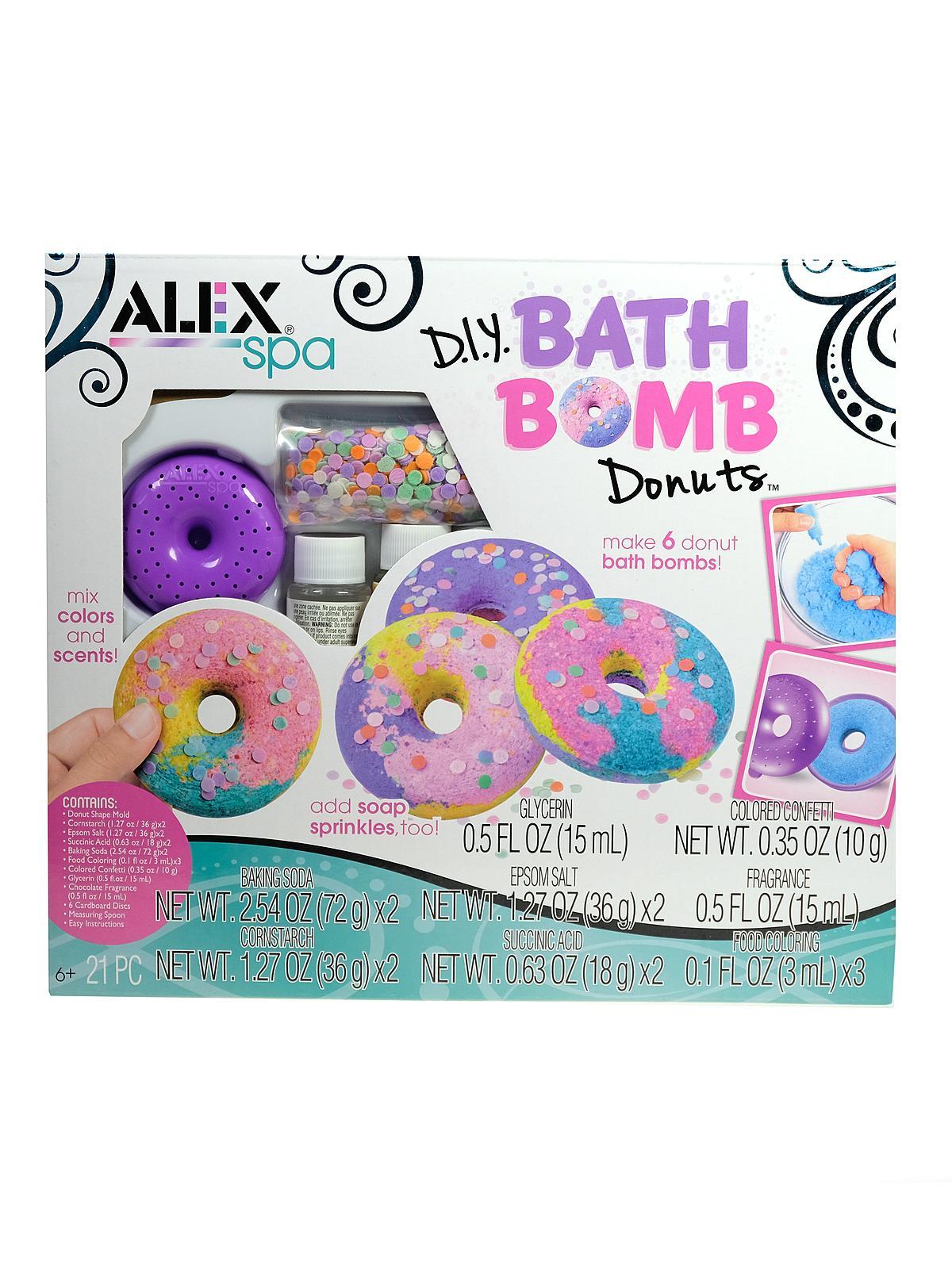 Alex Toys D i y  Bath Bomb Donuts