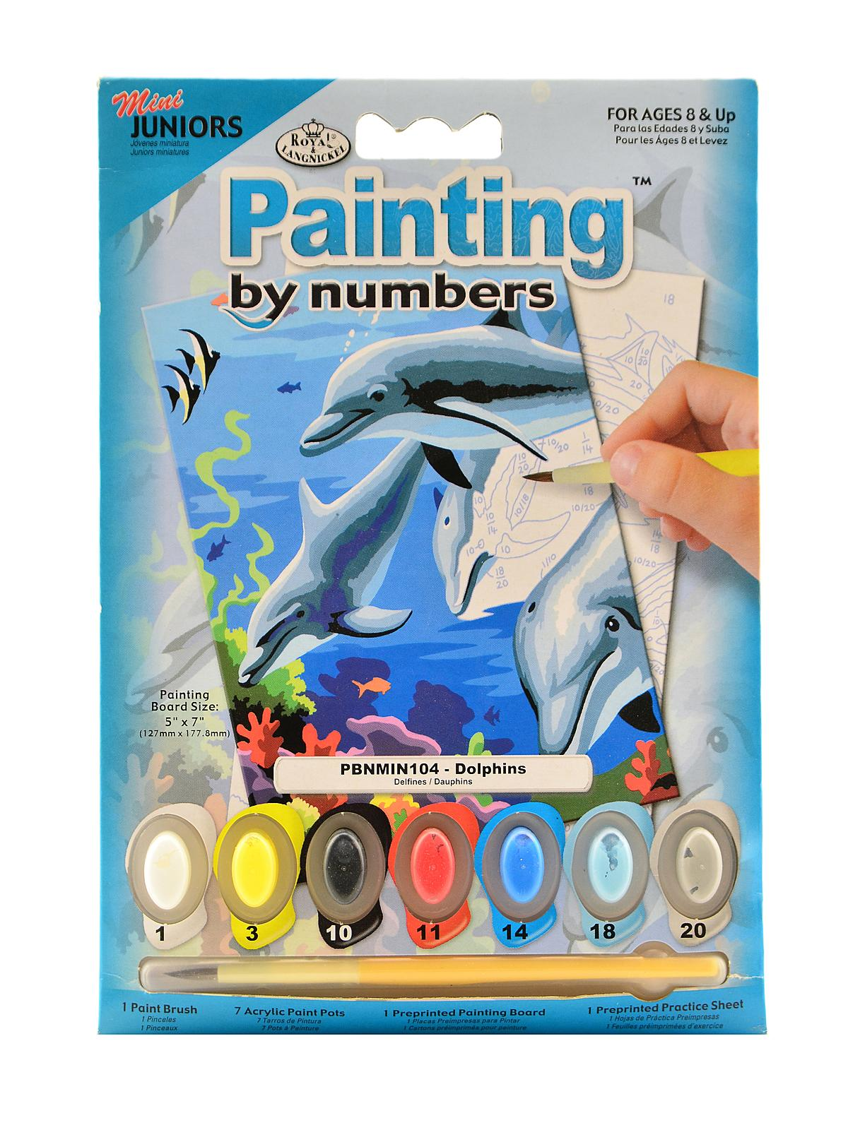 Royal Amp Langnickel Mini Paint By Number Kits